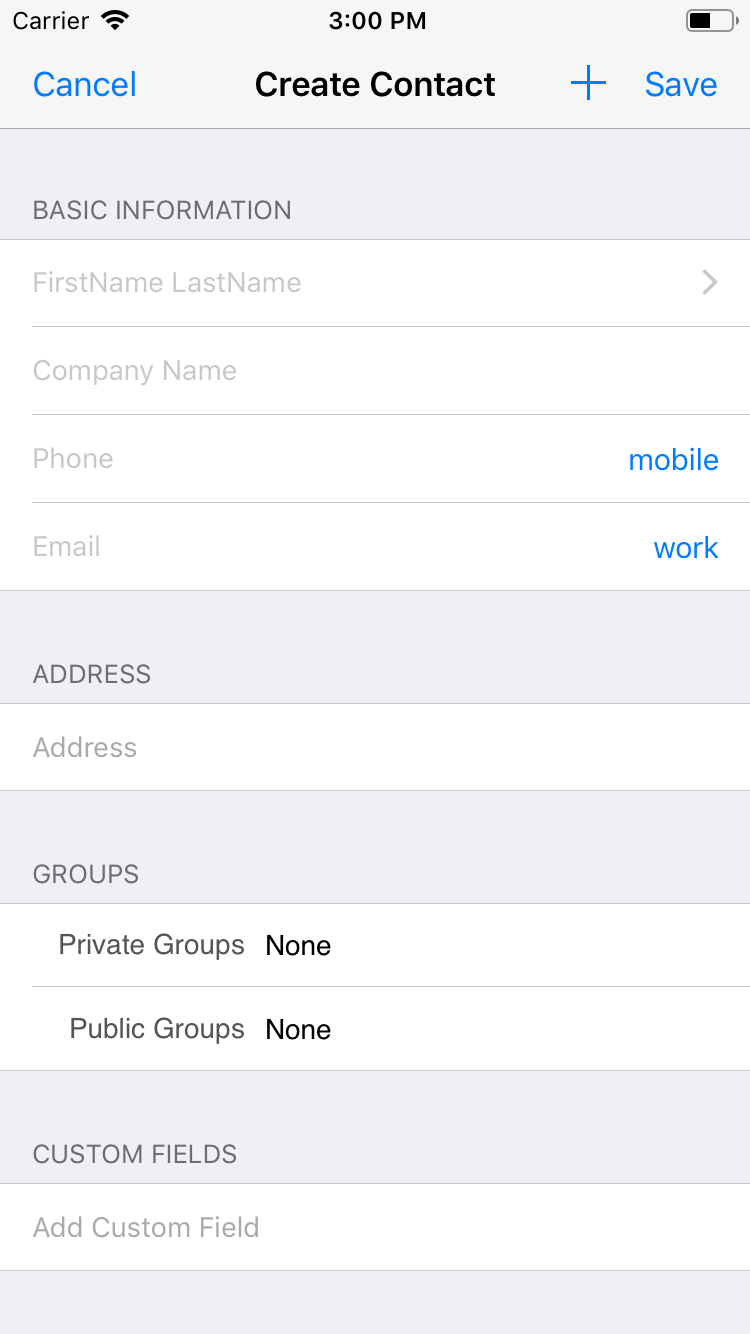 What's New in v4 6 (iOS) – Contacts Journal CRM